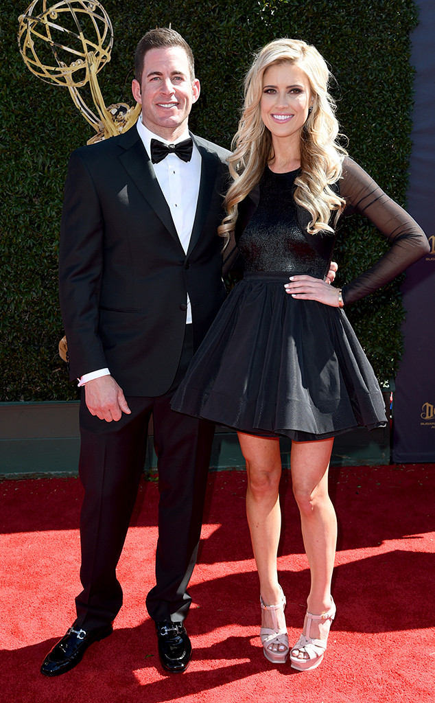 Tarek El Moussa, Christina El Moussa, 2017 Daytime Emmy Awards, Arrivals